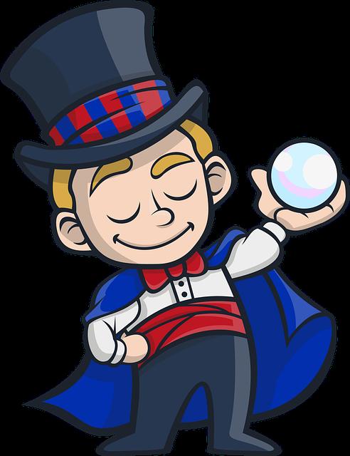 Zábavný kouzelník