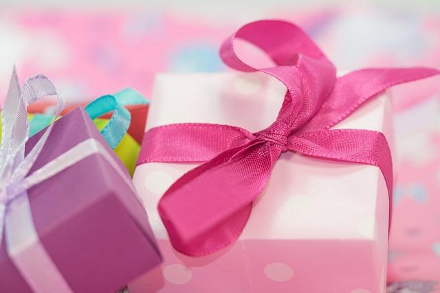 krabičky s dárky
