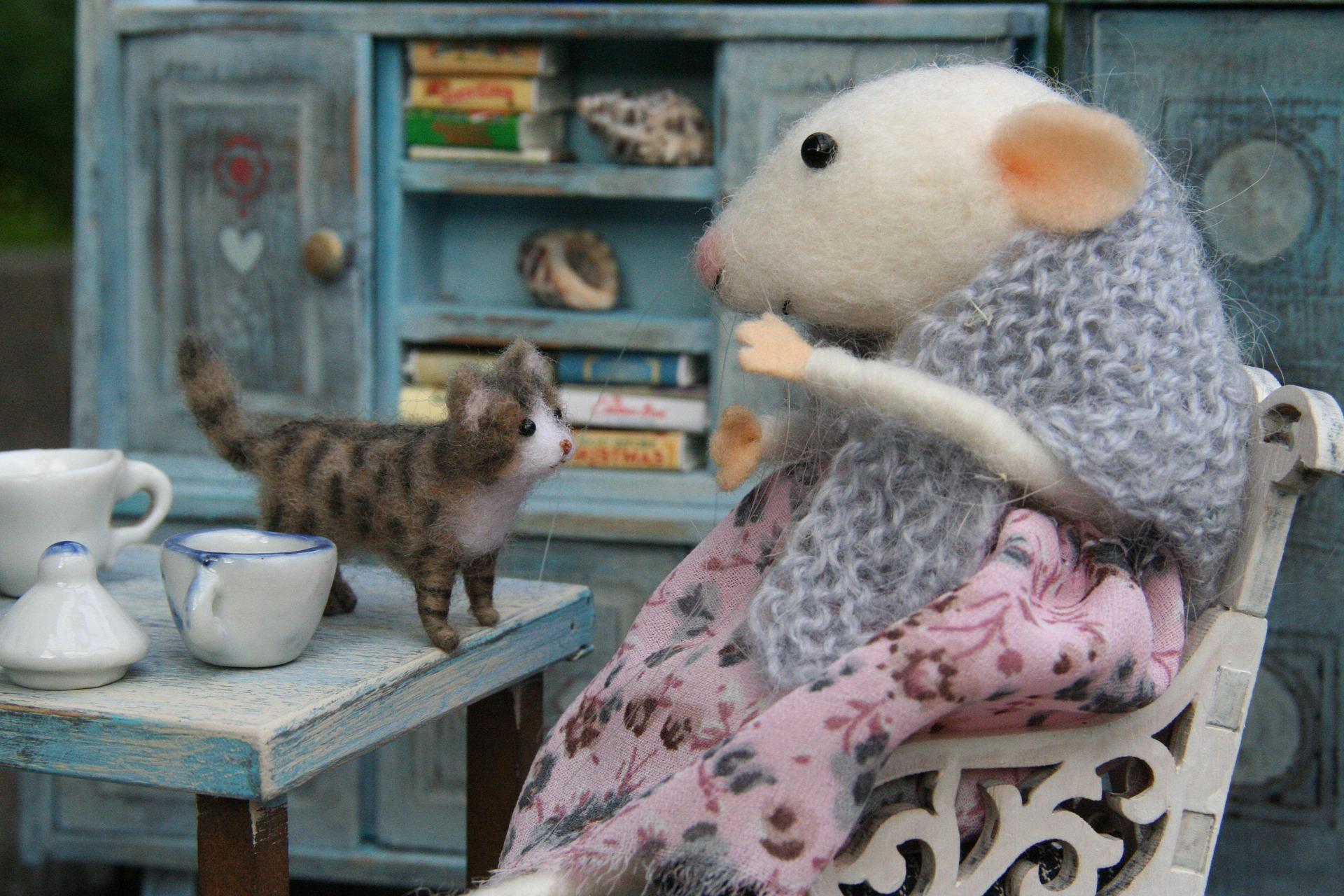 myš v domečku